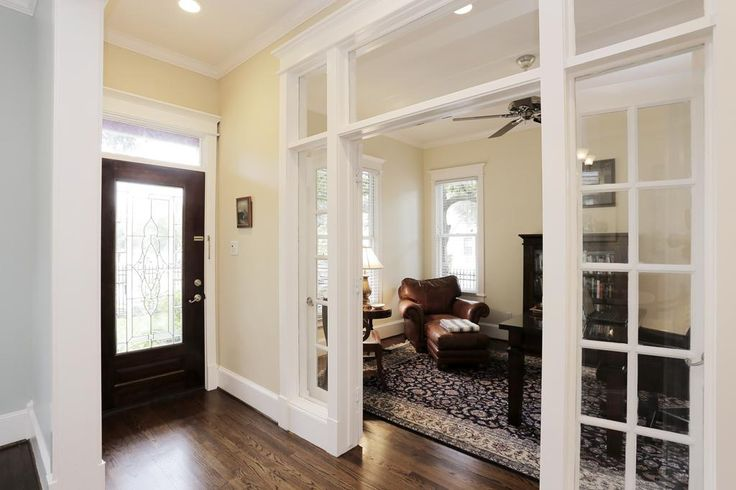 interior transom windows and french doors - Google Search