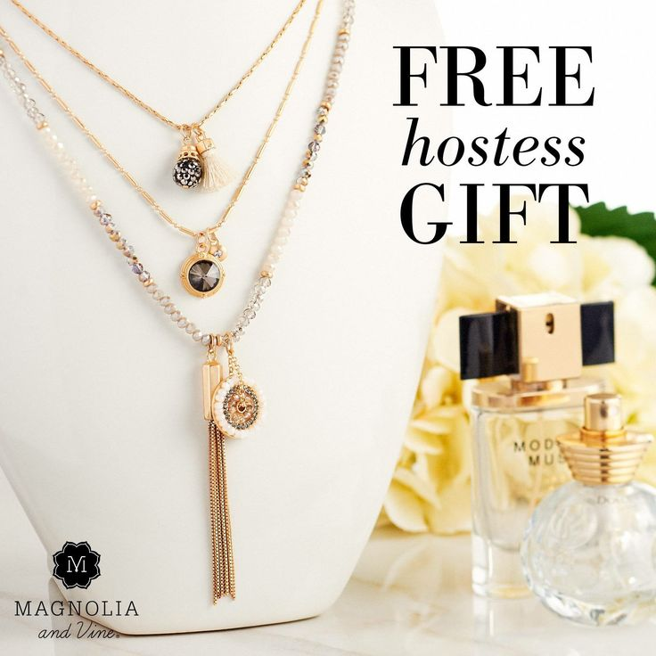 Get going on the guest list! Our exclusive Champagne/Matte Gold Beaucoup Necklace is yours FREE ($59.99 value) when you host a qualifying Social this month. Contact me for details 1-855-593-7848 or www.SparkleSnaps.com