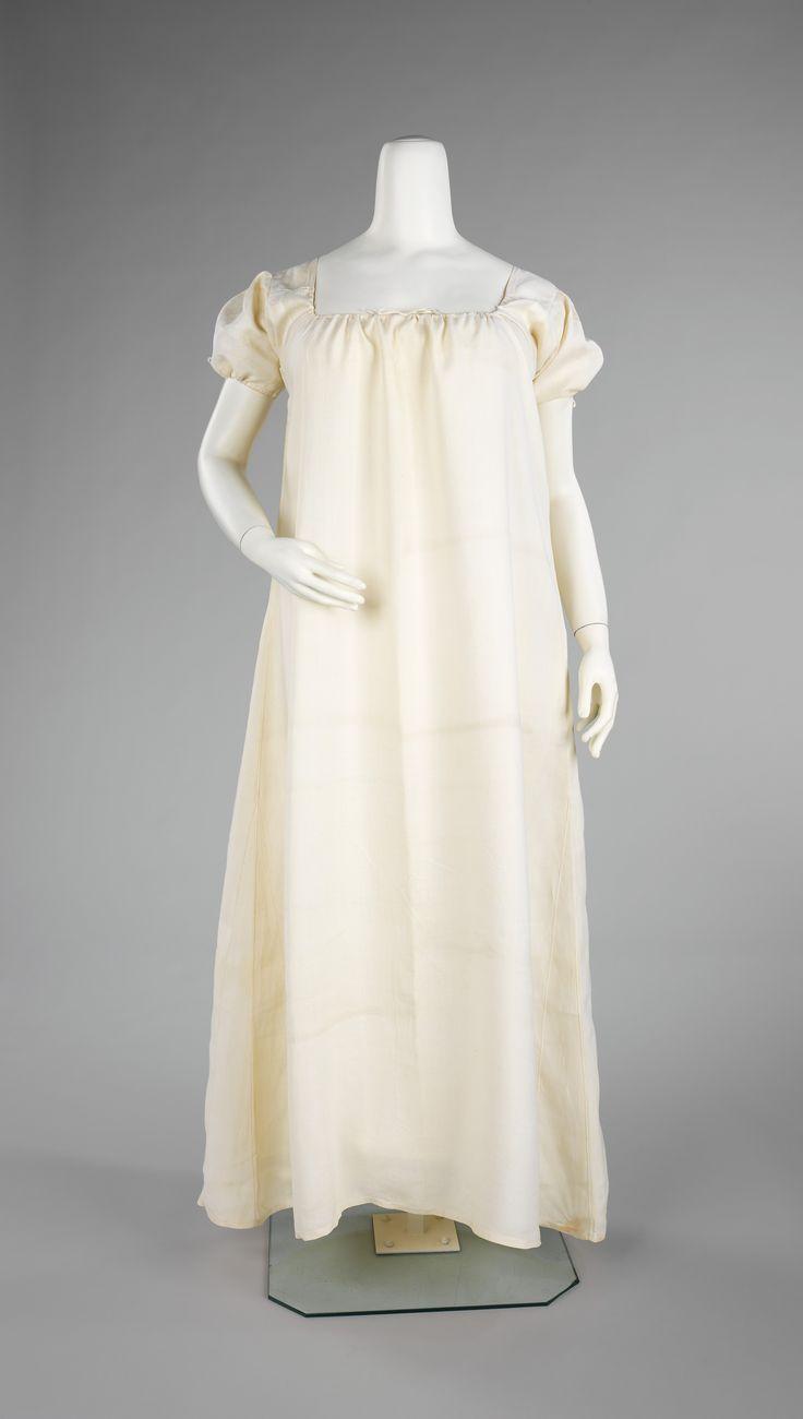 Chemise Ca 1790 1810 American Linen Historical