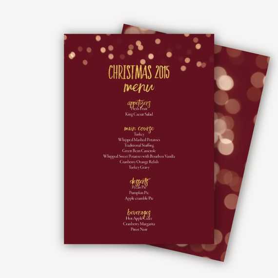 25 best ideas about Menu Template Word – Christmas Menu Word Template