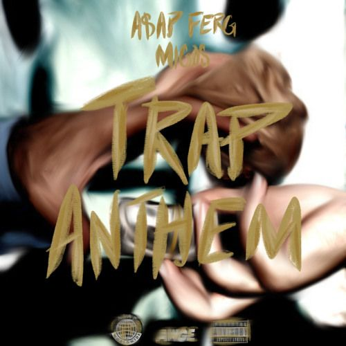 """Keeping A$AP Mob's #WavyWednesday series rolling, A$AP Ferg, who recently shined in a cypher with Your Old Droog and Wiki, links with Migos for """"Trap Anthem...."""