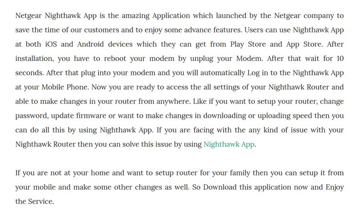 Guide to Download Netgear Nighthawk App on Android and IOS