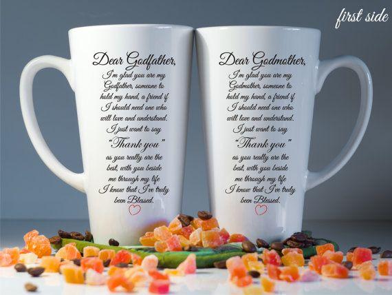 Godmother Gift Godparent Gift Personalized Gift For: Personalized Godparents Mugs-Godparents Gift-Godmother