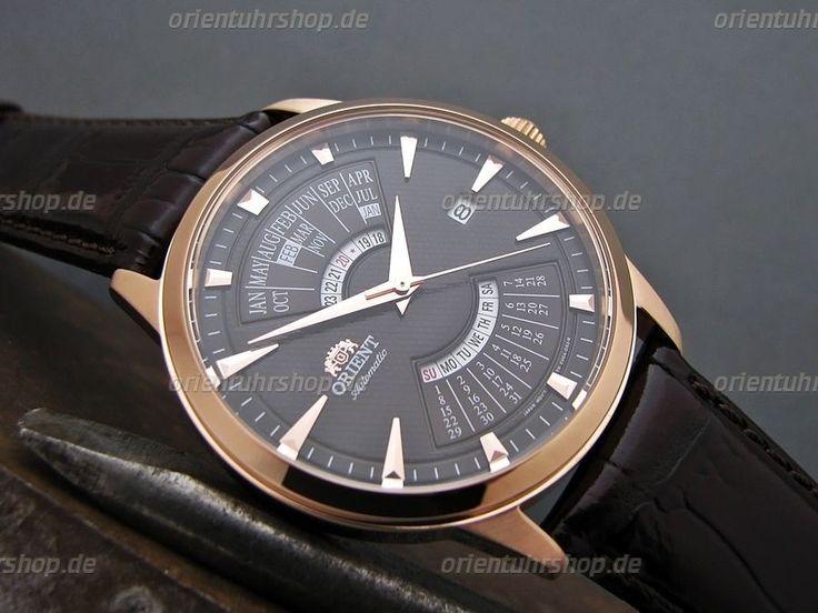 Orient Uhr Multi-Year Calendar Automatik Edelstahl Herrenuhr Rosegold FEU0A001TH in Uhren & Schmuck, Armband- & Taschenuhren, Armbanduhren | eBay!
