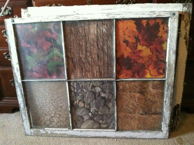 repurposing old window frame | Wall collages | Pinterest ...