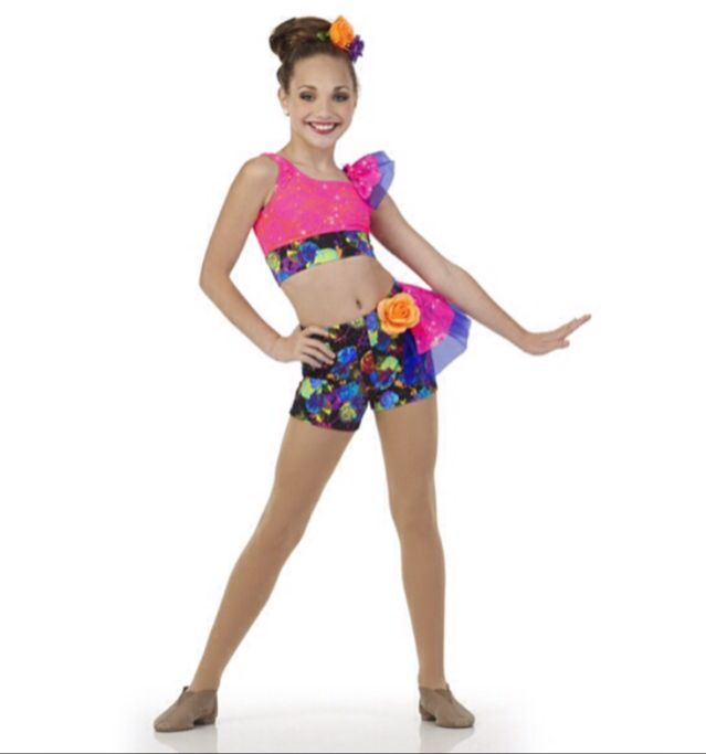 Maddie modeling for Creations By Cicci's 2015 dance