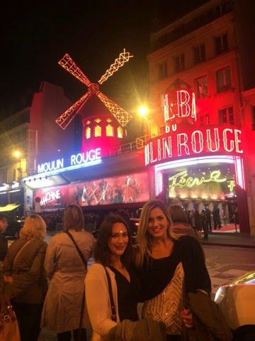 Think a little less. Live a little more.: Baguettes, cheese, wine and The Moulin Rouge