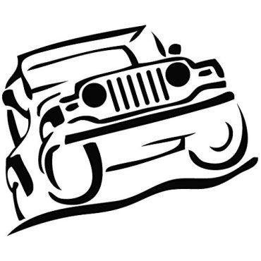 Jeep Climb Jeep Wrangler Stickers & Decals