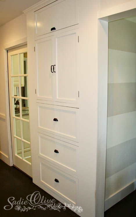 Hallway Storage Idea Brian Needs To Do This For Me In The Hallway Diy Pinterest