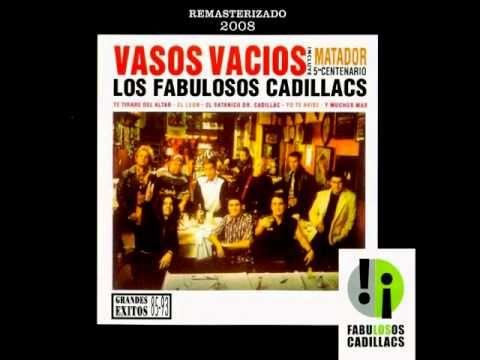 """Los Fabulosos Cadillacs """"Vasos Vacios"""" 1993 Buenos Aires Argentina"""