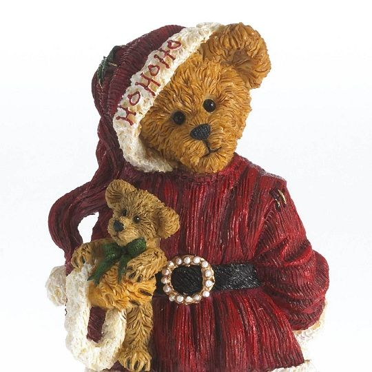 boyds bears | Boyds Bears Nikki Goodfriend with Lil' Holly... Deck the Halls!