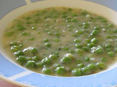 Együnk finomakat az egészségünkre: Zöldborsó főzelék (gluténmentes, tejmentes)
