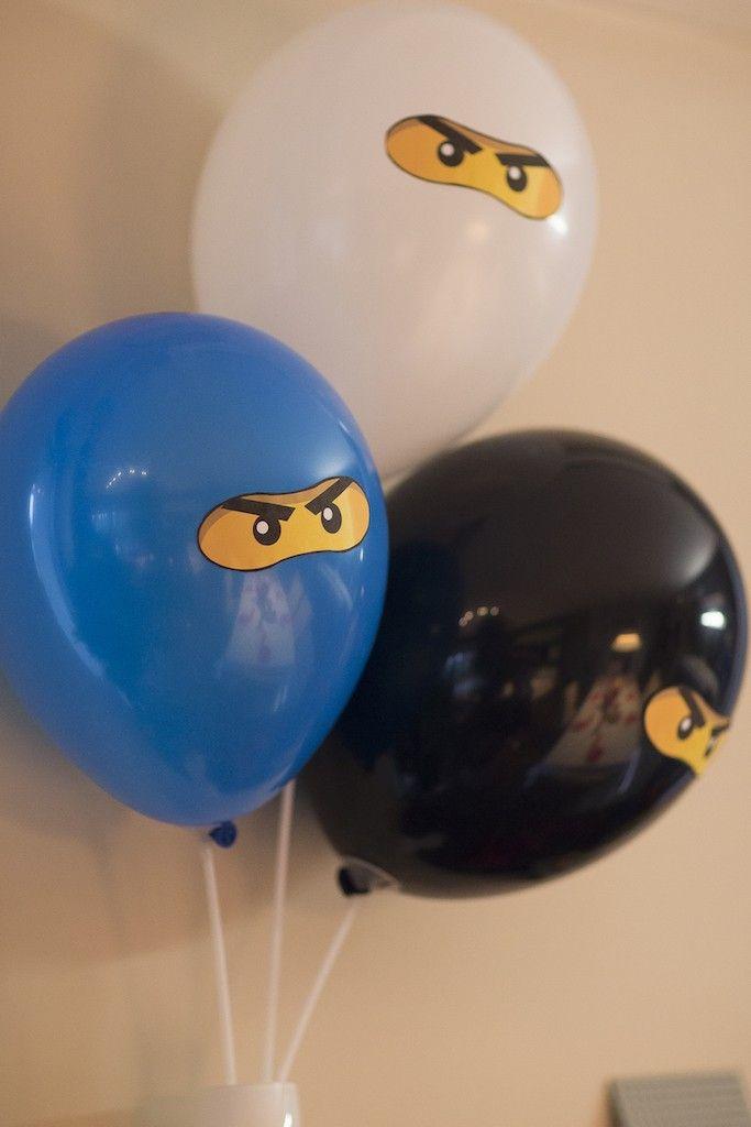 Ninjago-Party lufi