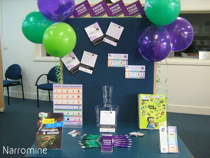 Library display at Narromine Library - Macquarie Regional Library #knowyourstandards 2015