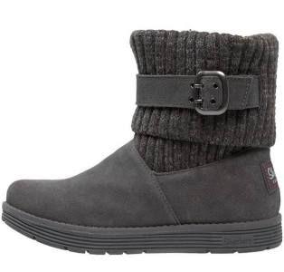 Skechers J Adore Botines Charcoal botas y botines Skechers J Adore Charcoal Botines Noe.Moda