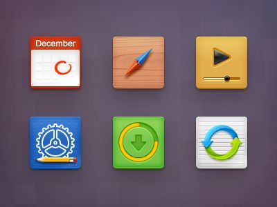 Mobile Icons by Delacro