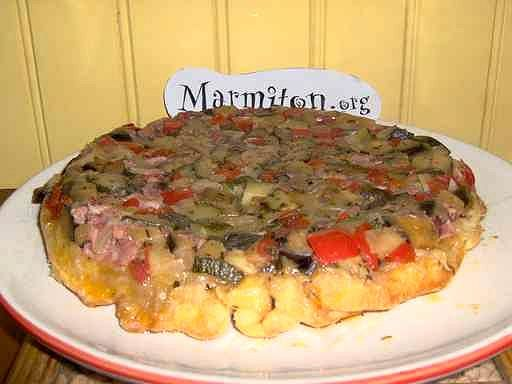 Recette de Tarte tatin de légumes - Marmiton