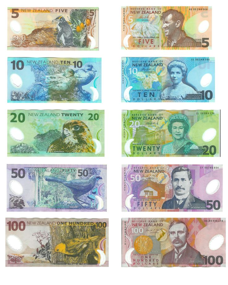 New Zealand Bank Notes