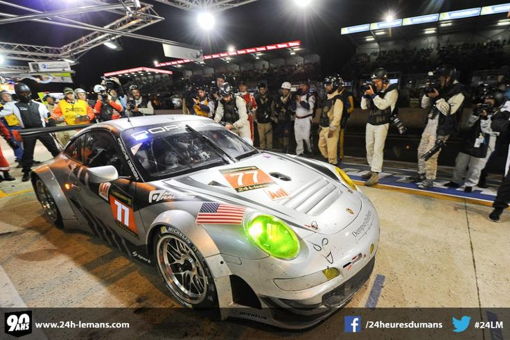 The name of Patrick Dempsey's and Joe Foster's teammate in the 24 Hours of Le Mans will be announced shortly. Description from 24h-lemans.com. I searched for this on bing.com/images