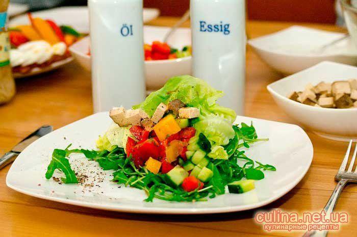 Как приготовить низкокалорийный салат