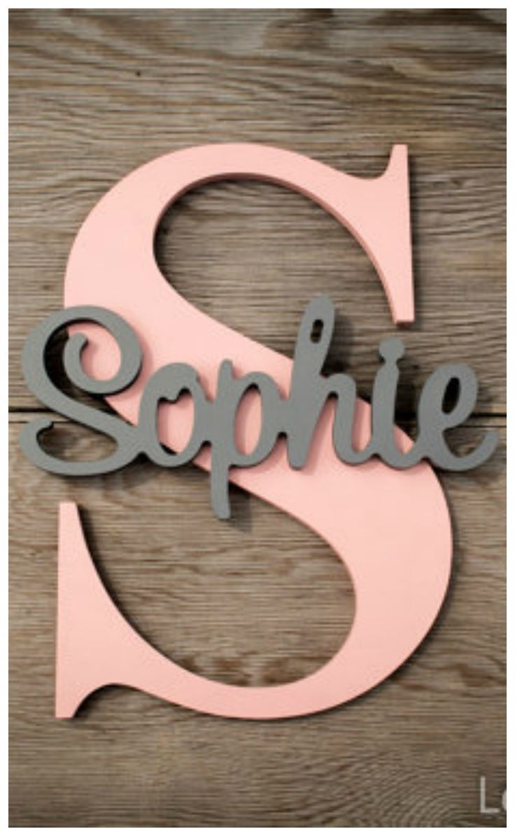 Personalized Children S Wood Wall Name Signs Letters