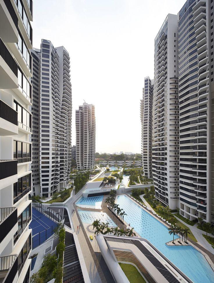 d leedon condominium singapore zaha hadid architects. Black Bedroom Furniture Sets. Home Design Ideas