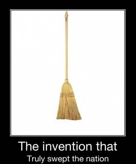 A sweeping invention. #Funny #puns
