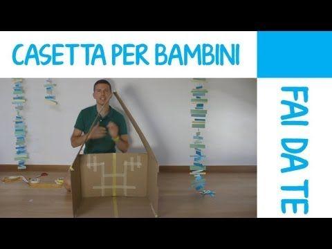 Come fare una casetta per bambini fai da te in cartone for Casetta per bambini ikea