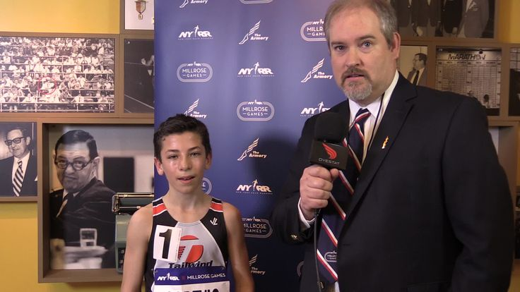 Race interview - NYRR Millrose Games 2016