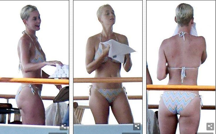 Katy Perry yongeye gutigisa murandasi kubw'amafoto ye