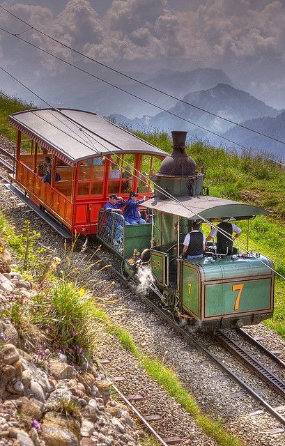 Engine No 7 (1873) Vitzgau to Rigi Kulm, Switzerland