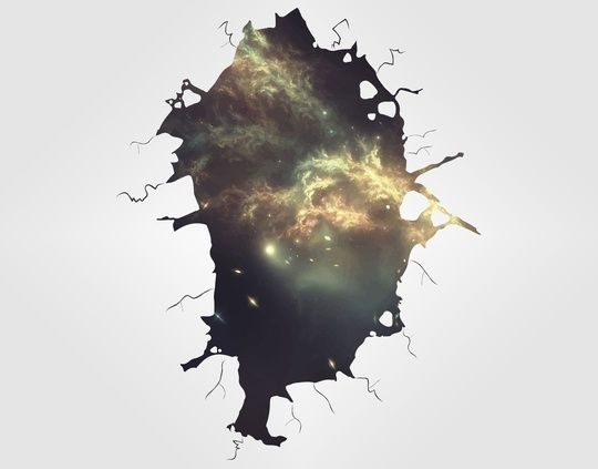 Into space by Danny Villarreal