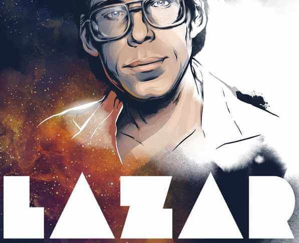 "Text ""Bob Lazar is the alleged UFO whistleblower whose claims of working on back engineering alien spacecraft at Area 51 have made the secretive base famous. Officials have denied his claims that he worked for"