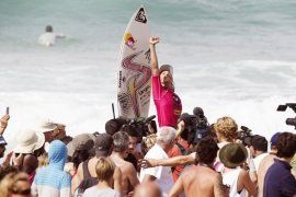 Sally Fitzgibbons wins Roxy Pro France