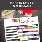 Have DebtMany of us do but using this free printable Debt Tracker could help you get out of debt faster link in bio moritzfinedesigns ontheblog freeprintablea moneygoals financialpeace eliminateoverwhelm finances savemoney savingmoney reducebills financialpeaceofmind financialplanning smartmoney budgetingmadesimple NewYearsgoals organizefinances moneygoals financialgoals