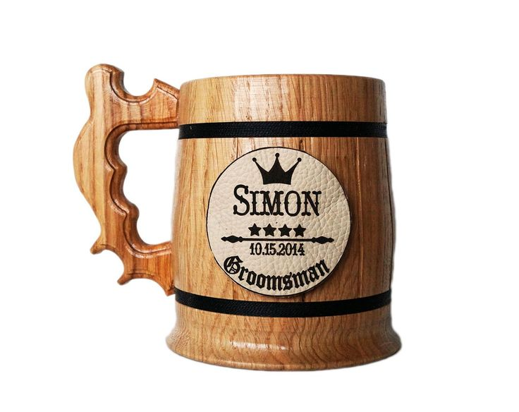 Personalized Wooden Beer Mug. Personalized Groomsmen Gift. Natural Leather. Groomsman Wooden Beer Mug. Groomsman Gift. Wedding Gift. Groom Beer Mug. Best Man Gift. Personal Gift for Men. Wood Mug. K28. Wooden Beer Mug. Personalized Groomsmen Gift. Groomsman Wooden Beer Mug. Groomsman Gift. Wedding Gift. Wood Beer Mug. Engraved Beer Mug. Personal Gift for Men. Attention! This Shop is only for Customers that value High Quality Products and Individual Approach to each client. Are you one of...