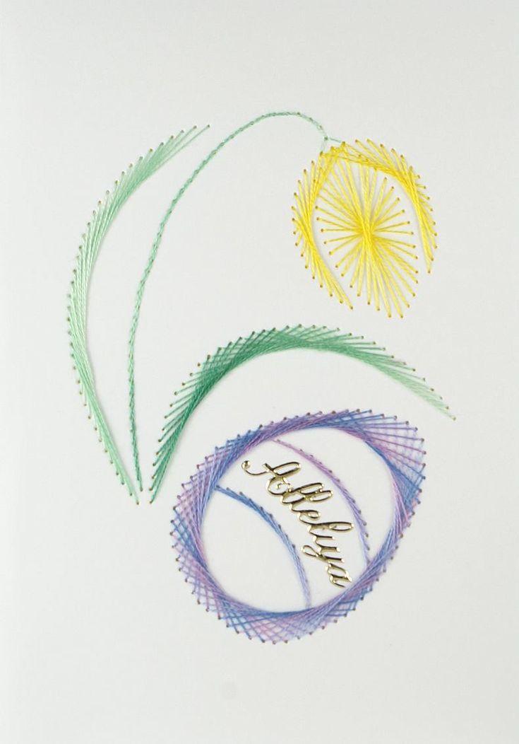 Znalezione obrazy dla zapytania kartki wielkanocne haft matematyczny wzory
