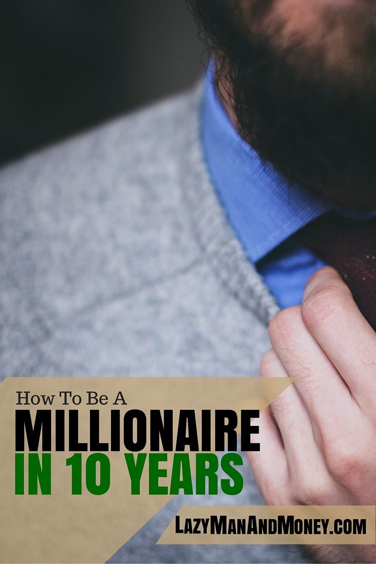 Every couple of months, I read an article about early retirement that knocks my socks off. This past week I read such an article and I'd like to share it with you. http://www.lazymanandmoney.com/how-to-be-a-millionaire-in-ten-years/