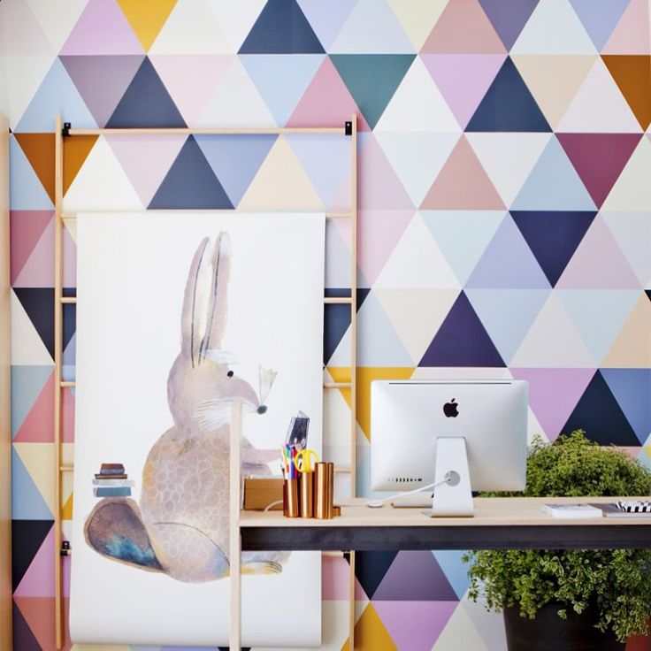 Arriva da Parigi e si chiama Bien Fait. E' uno studio di textile design, creato nel 2005, ora anche brand di carte da parati per grandi e piccoli, con decori insoliti, geometrici e grafici, c…