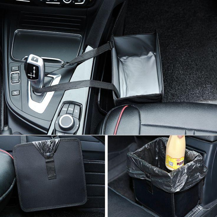 Práctico asiento hebillas papelera Plegable oxford bolsa de almacenamiento de juguetes ropa SUV del coche Organizador Del Tronco de coche cubre bolsa de basura en Bolsas de Almacenamiento de Hogar y Jardín en AliExpress.com | Alibaba Group
