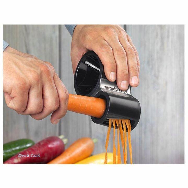 Spirelli, groentesnijder, groenteslijper van microplane #kitchentools | OrcaCool