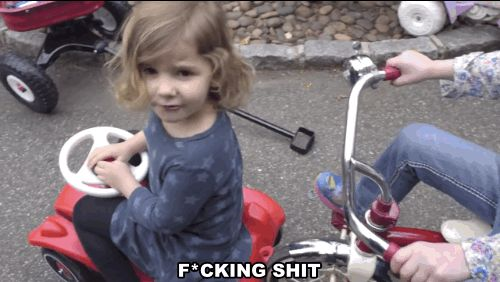 The best part about kids swearing is that they always seem to smile after! | This Video Of Kids Swearing Is F*cking Amazing