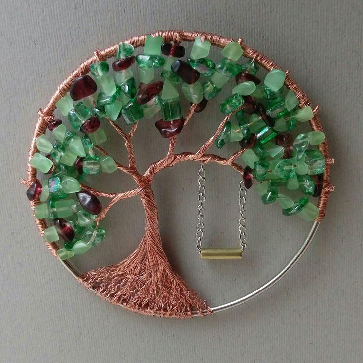 Summer wire tree