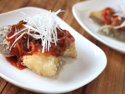 白身魚の甘酢あんかけ レシピ