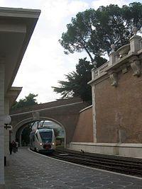 Estación Ciudad del Vaticano.