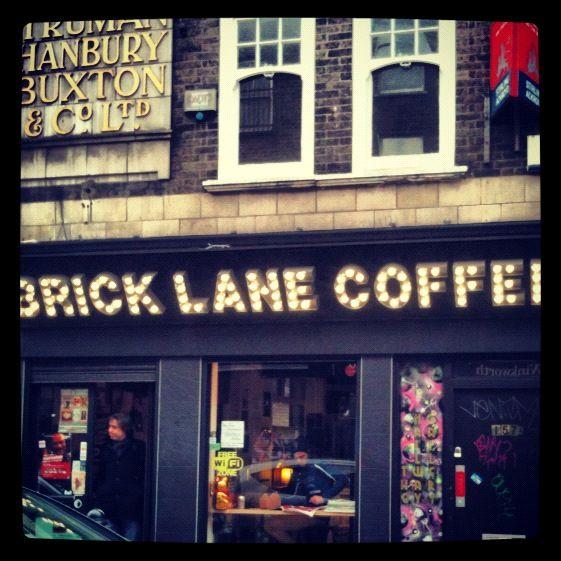 Brick Lane Coffee, Shoreditch. #oldstnewcoffee #oldstnewrules