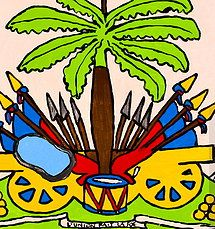 Image result for haitians flag splat