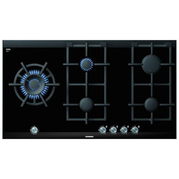 Siemens ER926SB70E - IQ-700 90cm Gas On Glass Hob Steel Trim | Appliance City