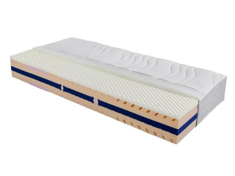 Aktivní pěnová matrace Celtex - Patricia Comfort vyrobená ze studené pěny s vrstvou líné pěny. / Active foam mattress Celtex - Patricia Comfort made of cold foam with a layer of lazy foam. #foam #mattress #penova #matrace #celtex #jmp #sleep #spanek