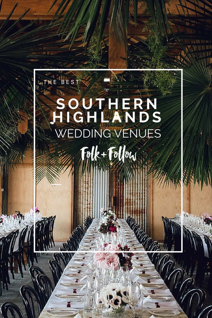 Find the most beautiful wedding venues in the Southern Highlands and South Coast of NSW.